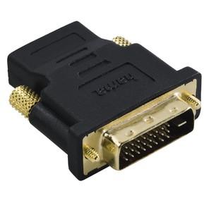 Hama H-34035 Адаптер HDMI  (f) - DVI / D  (m),  позолоченные штекеры,  черный