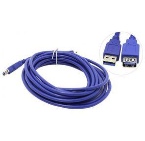 VCOM VUS7065-3M Кабель удлинительный USB3.0 Am-Af 3m