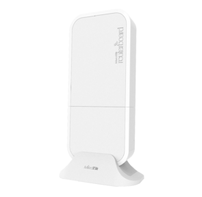 MikroTik wAP R with 650MHz CPU,  64MB RAM,  1xLAN,  built-in 2.4Ghz 802.11b / g / n Dual Chain wireless with integrated antenna,  miniPCI slot,  LTE internal antenna with 2 x u.fl connectors,  RouterOS L4,  outdoor