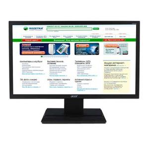 "LCD Acer 24"" V246HLBd черный {TN,  1920x1080,  5ms,  250,  100M:1,  D-Sub,  DVI}"