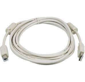 Кабель USB 2.0 3 м  (A-B) соед. комп.-->устр. с ферритовыми кольцами