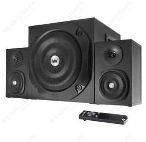 Акустическая система 2.1 Crown CMBS - 401 МДФ,  Bluetooth,  20W + 10W x 2 RMS = 40 W; приёмник FM; картридер; интерфейс USB; IR пульт