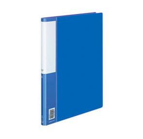Папка c зажимом KOKUYO POSITY,  А4,  синяя  / P3 (FU)-330B /