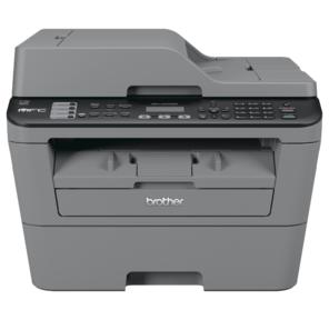 Brother MFC-L2700DNR принтер /  сканер /  копир /  факс,  A4,  24стр / мин,  дуплекс,  ADF,  32Мб,  USB,  LAN  (замена MFC-7360NR)