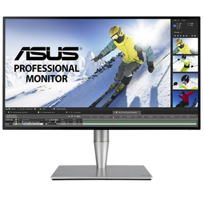 "ASUS PA27AC IPS 27"" LED,  2560x1440,  5ms,  400cd / m2,  178° / 178°,  100mln:1,  HDMI*3,  DP,  USB-Hub,  Thundebolt,  колонки,  Tilt,  Swivel,  Pivot,  рег. по высоте,  VESA,  Gun Grey"