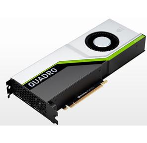 PNY Nvidia Quadro RTX5000 16GB PCI-Express x16 Gen 3.0  GDDR6 ECC 256-bit,  3072 Cuda cores,   SLI ,  HDCP 2.2,  HEVC and HDMI 2.0 support,  4x DP 1.4,  1x VirtualLink,  adapters: 1x DisplayPort