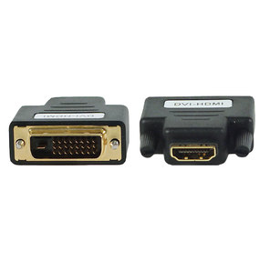 Переходник ADAPTER DVI-HDMI HDMI  (f) DVI-D  (m)
