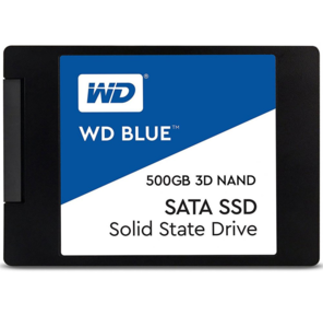 """Western Digital WDS500G2B0A BLUE SSD,  500Gb,  SATA-III,  2.5"""",  7мм,  TLC 3D-NAND"""