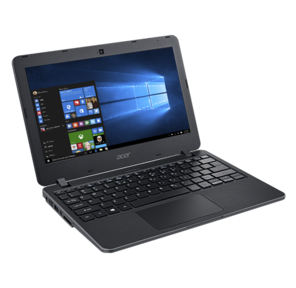 "Acer TravelMate TMB117-M Celeron N3060,  4Gb,  32гб SSD,  Intel HD Graphics,  11.6"" /  (1366x768),  WiFi,  BT,  Cam,  Win10Pro64,  black"