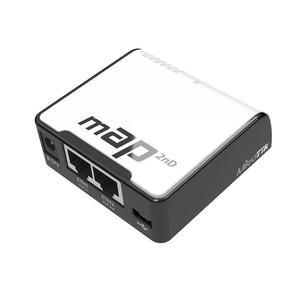 MikroTik mAP 2n RBmAP2nD mAP-2n Беспроводной маршрутизатор WiFi + 2 порта LAN 100Мбит / сек