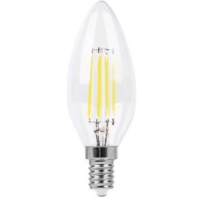 Feron LB-58 Лампа филаментная светодиодная,  5W,  230V,  E14,  2700K