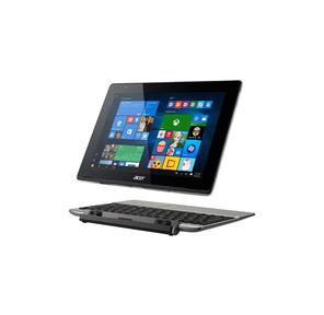 "Компьютер планшетный Acer Aspire Switch 10 SW5-014-1799 10.1"" WUXGA (1920x1200) IPS Intel Atom x5-Z8300 1.44GHz Quad 2GB 64GB GMA HD no3G WiFi n BT4.0 USB3.0 2.0MP+5.0MP microSDHC 30.00Wh 8060mAh 12.0h 1.10kg W10 1Y IRON KBI"