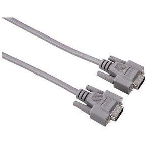Кабель Hama H-42089 VGA мониторный 15p / 15p  (m-m) 1.8 м 1зв серый