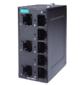 Компактный 8-портовый неуправляемый коммутатор 10/100 BaseT(X) Ethernet, QoS, в металлическом корпусе, -10...+60C