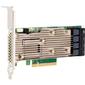 LSI MegaRAID SAS9460-16i (05-50011-00) (PCI-E 3.1 x8, LP) SGL SAS12G, RAID 0,1,10,5,6, 50,60 16port (4*Mini-SAS HD SFF8643),4G onboard, Каб.отдельно
