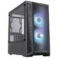 Cooler Master MasterBox MB311L,  2xUSB3.0,  2x120 ARGB Fan,  w / o PSU,  Black,  mATX