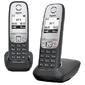 Радио телефон Gigaset A415 Duo 2 трубки,  черный