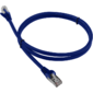 Патч-корд LANMASTER LSZH FTP кат.6,  0.5 м,  синий