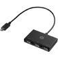 HP USB-C to USB-A Hub cons