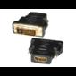 5bites Переходник DH1803G DVI  (24+1) M  /  HDMI F,  зол.разъемы