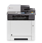 Цветной копир-принтер-сканер-факс Kyocera M5526cdw  (А4, 26 ppm, 1200 dpi, 512 Mb, USB, Network, Wi-Fi, дуплекс, автоподатчик, тонер)