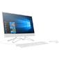 "HP 22-c0009ur,  21.5"",  Full HD,  Intel Celeron J4005,  4GB,  500GB,  Intel HD Graphics 600,  DVD-RW,  USB,  cam,  DOS,  белый"