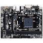 GIGABYTE AMD A68H sFM2+ 2xDDR3 (2400,  64GB max) ,  1xPCI-E x16,  1xPCI-E x1,  1xPCI ,  1 x D-Sub,  2.1 x DVI-D,  7.1CHAudio,  1xGBL,  4xSATAIII,  2xUSB3.0+8xUSB2.0,  1 x PS / 2,  mATX
