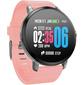 """Смарт-часы Jet Sport SW-1 1.33"""" LCD серебристый  (SW-1 PINK)"""