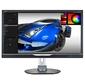 "Монитор 28"" Philips 288P6LJEB 00/01 черный TFT-TN 3840x2160 300 cd/m^2 1 ms DVI HDMI DisplayPort Ауд"