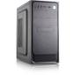 Сase Forza mATX, 450W, 2xUSB2.0, Black, w/o FAN, 12 cm fan PSU, power cord