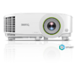 BenQ EW600 DLP,  1280x800 WXGA,  3600 AL SMART,  1.1X,  TR 1.55~1.7,  HDMIx1,  VGA,  USBx2,  wireless projection,  5G WiFi / BT,   (USB dongle WDR02U inc) Android,  16GB / 2GB,  White