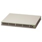 Allied Telesis 48 x 10 / 100T POE+ ports and 4 x 100 / 1000X SFP  (2 for Stacking),  Fixed AC power supply,  EU Power Cord