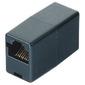Адаптер ISDN 8p8c  (f-f) удлинительный,  для соединения двух патч-кордов,  черный,  Hama     [ObT]