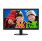 "Philips 243V5QSBA 23.6"",  1920x1080,  MVA,  LED,  16:9,  8ms,  VGA,  DVI,  10M:1,  178 / 178,  250cd,  100x100мм,  Black"