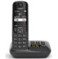 Р / Телефон Dect Gigaset AS690A RUS черный автооветчик АОН