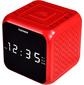 Радиоприемник настольный Telefunken TF-1571 красный / черный
