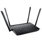 ASUS RT-AC1200G+ Dual-band Gigabit Router 4UTP 10  /  100  /  1000Mbps,  1WAN,  802.11a  /  b  /  g  /  n  /  ac,  USB,  4x5dBi