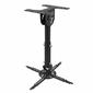 Wize WPA-B Универсальное потолочное крепление для проектора,  до 12 кг,  черный