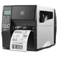 TT Printer ZT230; 203 dpi,  Euro and UK cord,  Serial,  USB,  Peel