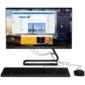 "Lenovo IdeaCentre AIO 3 22IIL5   21.5"" (1920x1080) / Intel Core i3 1005G1 (1.2Ghz) / 8192Mb / 1000+128SSDGb / DVDrw / Int:Intel UHD Graphics / BT / WiFi / war 1y / 5.8kg / black / DOS + Keyboard,  mouse USB"