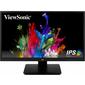"""Viewsonic VA2410-mh 23.8"""" IPS SuperClear,  1920 x 1080,  5ms,  250cd / m2,  178° / 178°,  D-Sub,  HDMI,  колонки,  Tilt,  VESA,  Black"""