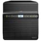 Synology  QC1, 4GhzCPU / 1GB / RAID0, 1, 5, 6, 10 / up to 4HDDs SATA (3, 5' ') / 2xUSB3.0 / 1GigEth / iSCSI / 2xIPcam (upto 16) / 1xPS / 2YW repl DS418j