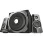 Trust Speaker System Tytan,  2.1,  60W (RMS),  Mini jack 3.5mm,  Black [19019]