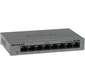 NETGEAR GS308-100PES 8-port 10 / 100 / 1000 Mbps switch with external power supply, metallic case