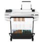 "Широкоформатный принтер HP DesignJet T530 Printer  (24"", 4color, 2400x1200dpi, 1Gb, 30spp (A1), USB / LAN / Wi-Fi, stand, mediabin, rollfeed, sheetfeed, tray50 (A3 / A4),  autocutter, GL / 2, RTL, 2y warr,  repl. CQ890C)"