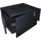 Шкаф настенный Next,  6U 550x450,  металлическая дверь,  черный