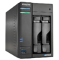 ASUSTOR AS6602T 2-Bay NAS / Media player / Intel Celeron J4125 2.0GHz up to 2.7GHz  (Dual-Core ),  4GB SO-DIMM DDR4,  noHDD (HDD, SSD),  / 2x1GbE (LAN) / 3xUSB3.2, HDMI ; 90IX01F0-BW3S10