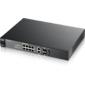 ZyXEL GS2210-8HP. 8-портовый управляемый High Power PoE-коммутатор Gigabit Ethernet с 2 SFP-слотами совмещенными с разъемами RJ-45.