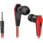 Наушники стерео Trendy-704 для MP3,  красны&черный,  1, 1 м