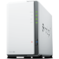 Synology DS216se 800MhzCPU / 256Mb DDR3 / RAID0, 1 / up to 2HDDs SATA (3, 5'') / 2xUSB / 1GigEth / iSCSI / 2xIPcam (up to 5) / 1xPS